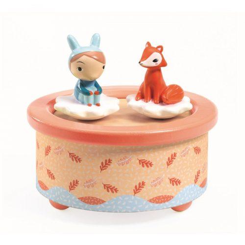 Djeco Spieluhr Hase und Fuchs Melodie