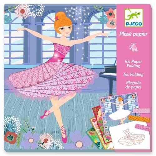 Djeco Iris Paper Folding - Tänzerinnen für Kinder ab 7-13 Jahren