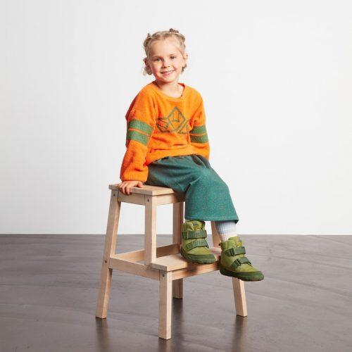 Affenzahn Kinder-Winterstiefel Drachen vegan- Wasserfest, atmungsaktiv