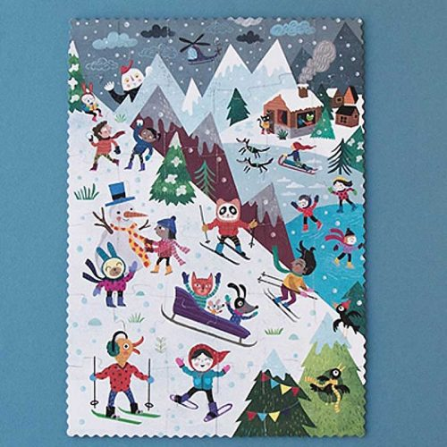 Londji Puzzle: Let´s go to the mountain - Wendepuzzle ab 3 Jahre