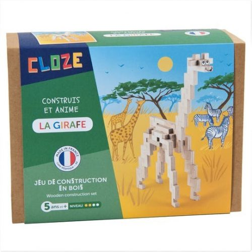 CLOZE - Workshop Giraffe ab 5 Jahren - Handmade in France