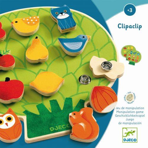 Djeco Motorik- und Lernspiel Clipaclip für Kinder von 3 Jahren