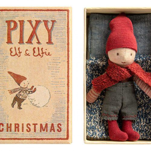 Maileg PIXY Christmas Elf in Streichholzschachtel für jedes Alter