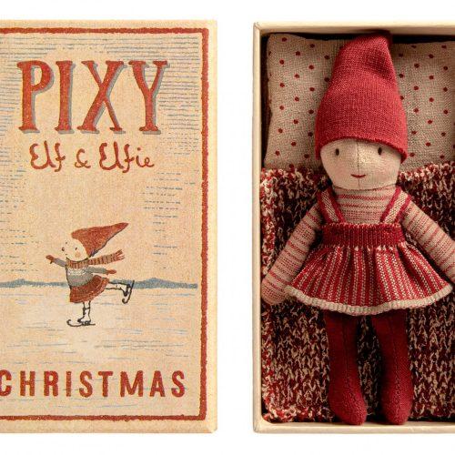 Maileg PIXY Christmas Elfie in Streichholzschachtel für jedes Alter