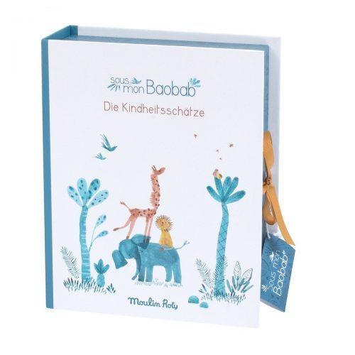 Moulin Roty Geschenkbox Sous mon baobab für Kinderschätze