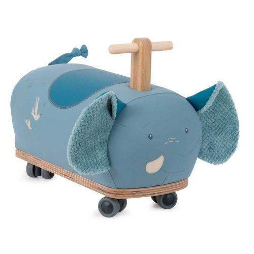 Moulin Roty Rutscher Elefant in blau für Kinder ab 1 Jahr