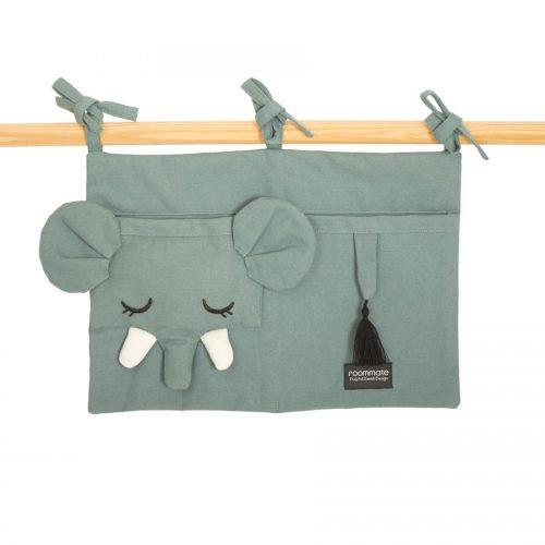 Roommate Bett-Utensilo Elefant - schönes Geschenk zur Geburt