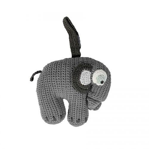 Sebra Spieluhr Elefant grau - schönes Geschenk zur Geburt