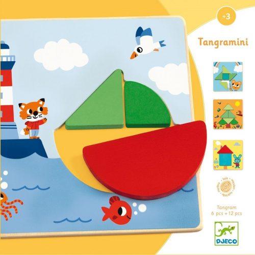 Djeco Tangramini - Lernspiel ab 3 Jahren - fördert Konzentration