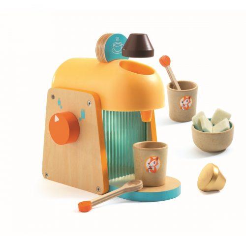 Djeco Espresso-Maschine für Kinder ab 3 Jahren - fördert die Motorik