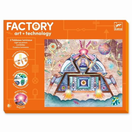 Djeco Factory - Odyssee - Technologie für Kinder ab 8 Jahren