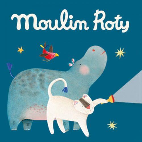 Moulin Roty Zubehör für Geschichten-Taschenlampe Les Papoum