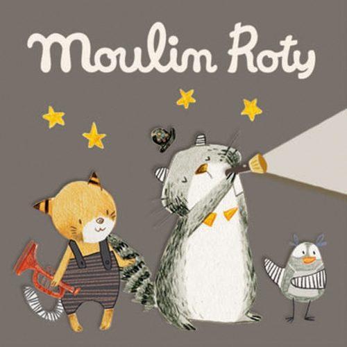 Moulin Roty Zubehör für Geschichten-Taschenlampe Les Moustaches