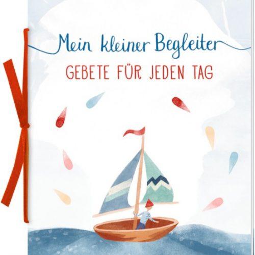 Geschenkbox Mein kleiner Begleiter (Holzkreuz natur+Buch)