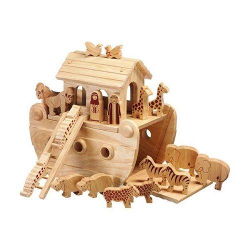lanka kade Arche Noah aus Holz ab 3 Jahre - handmade und fair trade