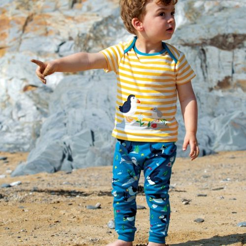 Frugi The National Trust Olly Outfit - Papgeientaucher und Moewe