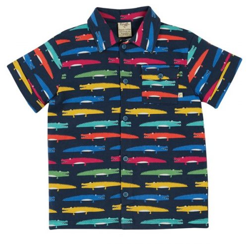 Frugi Jersey-Shirt Krokodil Rupert