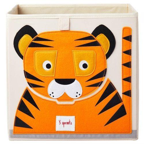 3 sprouts Aufbewahrungsbox Tiger