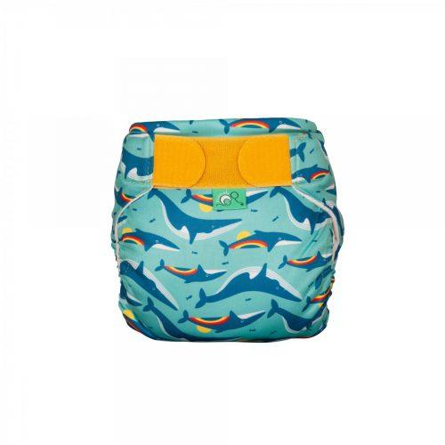 TotsBots Schwimmwindel Rainbow Whale