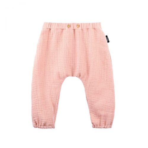 Baby-Sommerhose lang in dusty apricot