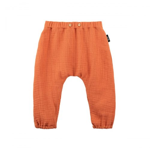 Baby-Sommerhose lang in papaya von pure-pure by Bauer
