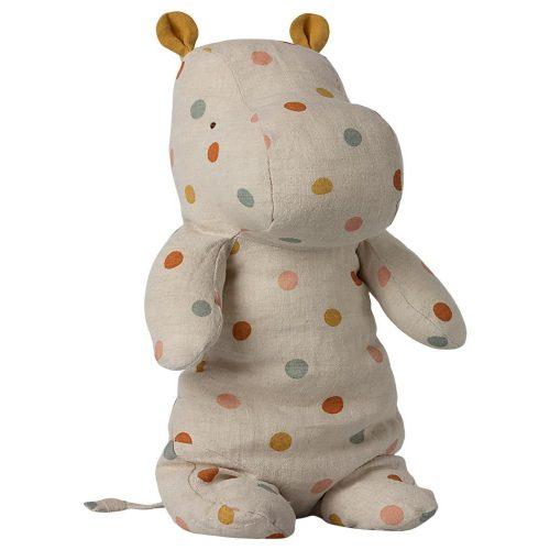 Maileg Hippo Multi Dot aus der Serie Safari Friends medium - Kuscheltier