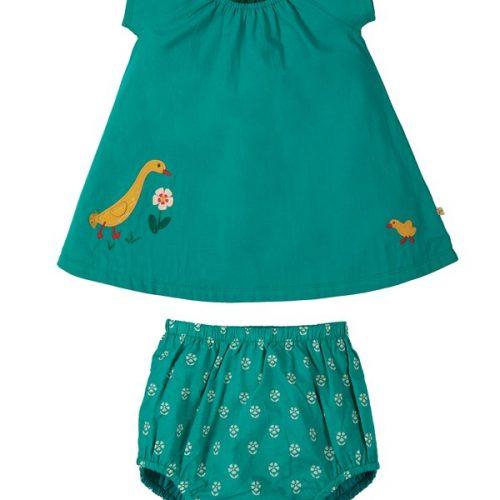 Frugi Outfit Octavia Bluse & Bloomer zum wenden