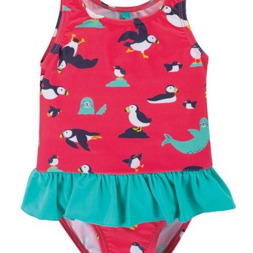 Frugi Badeanzug Papageientaucher