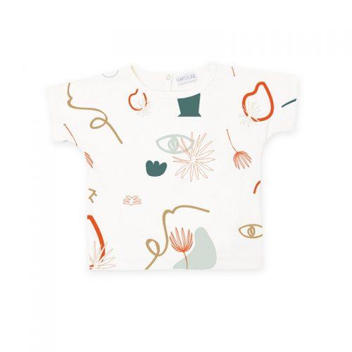T-Shirt Grafic Hortensia von Kapoune - besonderes, sommerliches T-Shirt