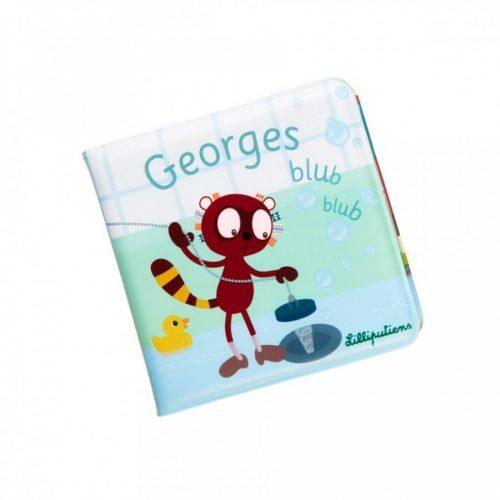 Georges Blubb-Blubb-Badebuch von Lilliputiens ab 18 Monate