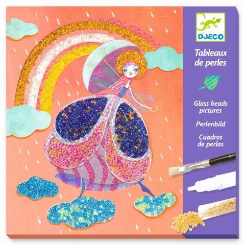 Djeco Perlenbilder Zauberwelt für Kinder ab 7-13 Jahren