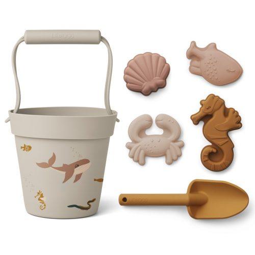 Liewood Sandspielzeug Meerestiere