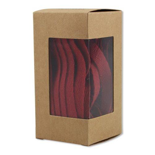 ava&yves Baumwoll-Geschenkband kirschrot (5m)