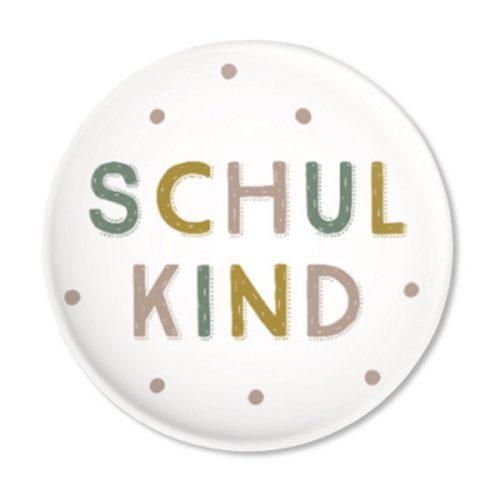 Button mit bunten Punkten – Schulkind 2020 von ava & yves