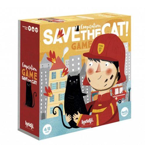 Londji Kooperationsspiel Save the Cat - Rettet das Kätzchen ab 4 Jahre