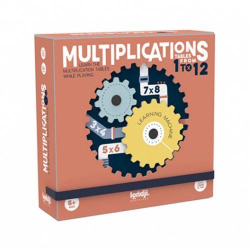 Londji Lernspiel Multiplikation