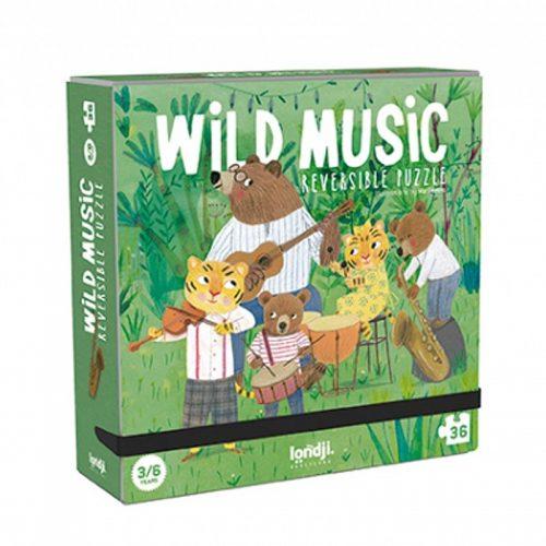 Londji Puzzle im Taschenformat: Wild Music