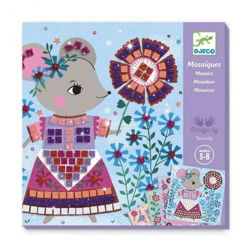 Djeco Mosaik stickern Lovely Pets