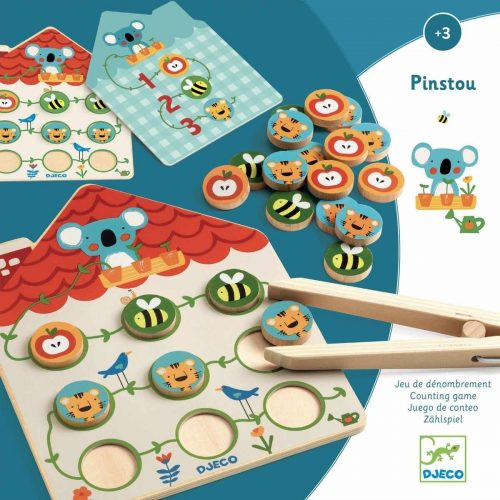 Djeco Pinstou - Lernspiel ab 3 Jahre - fördert Konzentration