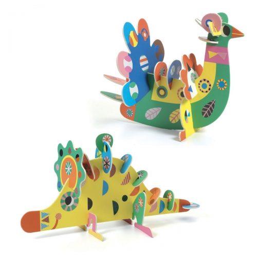 Djeco 3D-Tiere basteln - Basteln für Kinder ab 3 Jahren