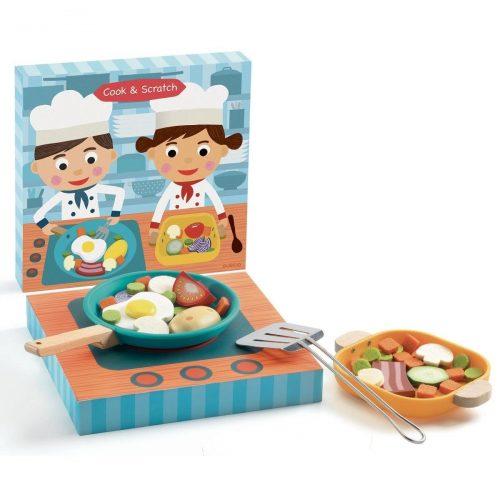 Djeco Kinderküche: Cook & Scratch Zubehör für die Kinderküche 3 Jahre+