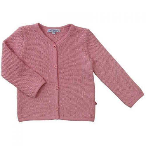 Enfant Terrible - Strickjacke im Trachtenstil in rosé