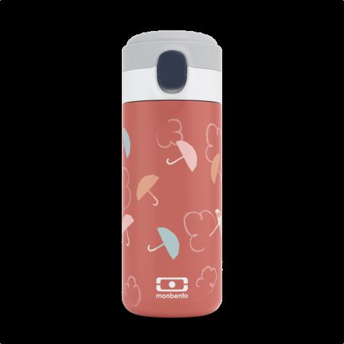 monbento MB Pop Trinkflasche Regenschirme terracotta -Umbrella orange