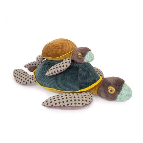 Kuscheltier kleine Schildkröte von Moulin Roty - Tout autour du monde