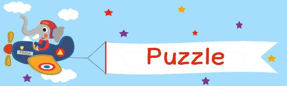 Banner Kategorie Puzzle Elefant Flieger
