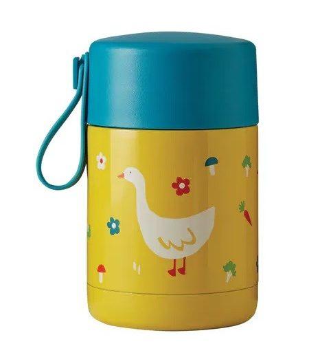 Lunchbox Yummy Ente in gelb von Frugi aus Edelstahl