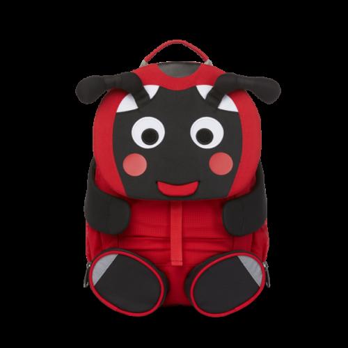 Affenzahn Kinderrucksack Marienkäfer in rot-schwarz