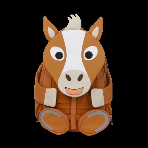 Affenzahn Kinderrucksack Pferd gross in braun-weiß ab 3-5 Jahren