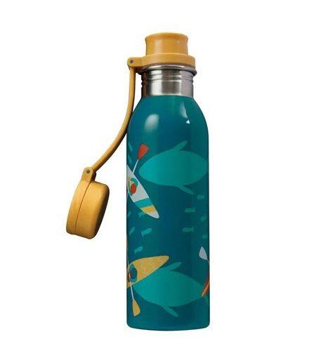 Trinkflasche Large Splish Splash Kajak von Frugi 700 ml