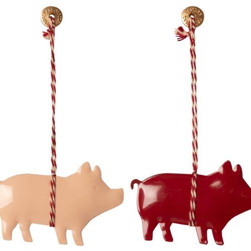 Maileg Baumschmuck 2 Glücksschweine